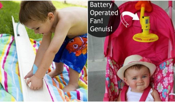 17 Tricks to Keep Kids Cool This Summer
