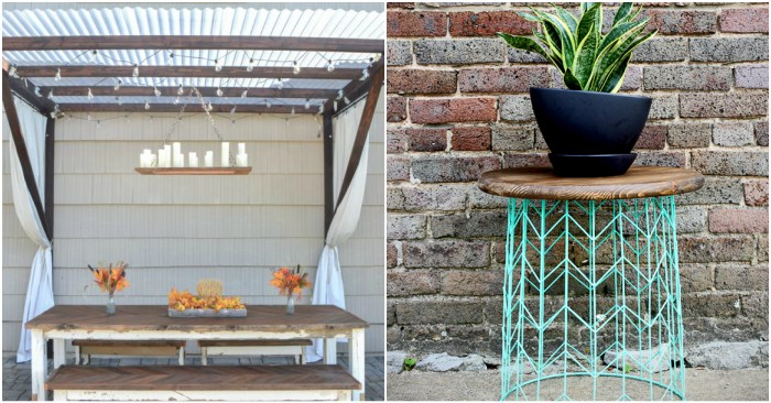 19 Patio DIYs to Spruce Up Your Outdoor Living Area