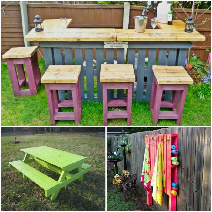 Summer Pallet Project Ideas