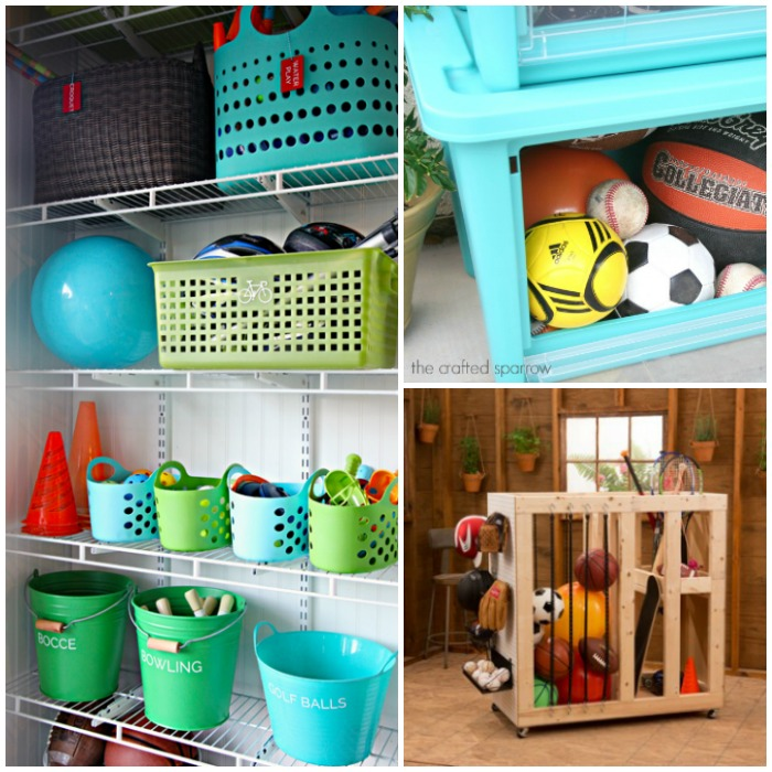 Backyard toy storage ideas for Patio organization ideas