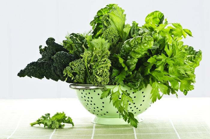 Dark Leafy Greens for Leg Cramps