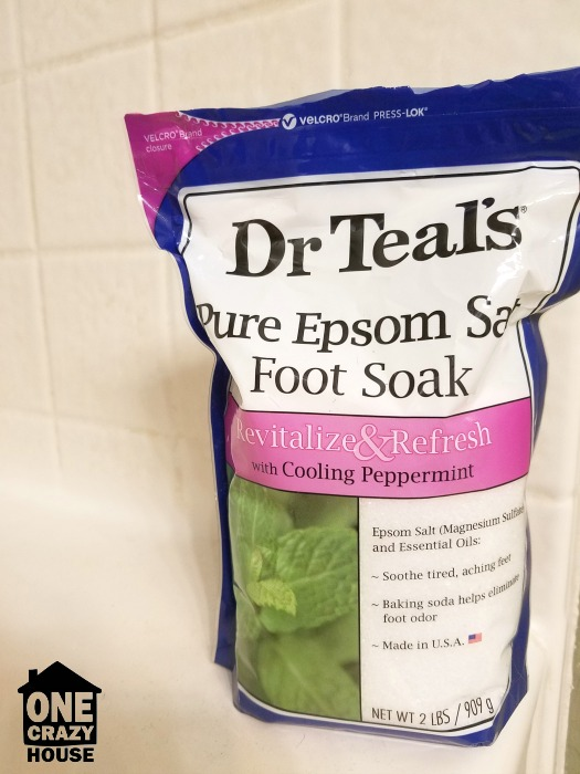 Espom Salt for Soaking Leg Cramps