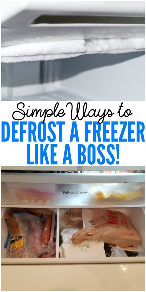 Defrost a Freezer, Like a Boss! It just sounds more fun that way.