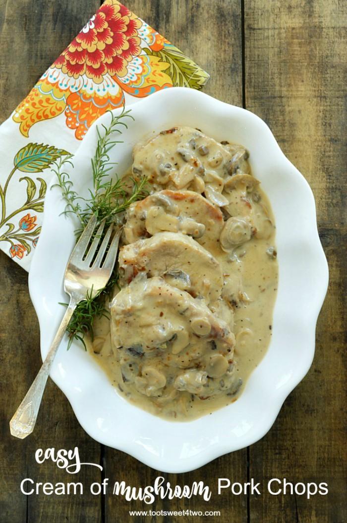 cream of mushroom pork chops