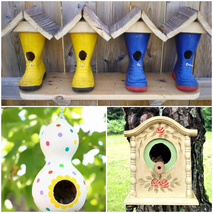 16 Super Cute Birdhouse Ideas for Your Garden The Most Viral