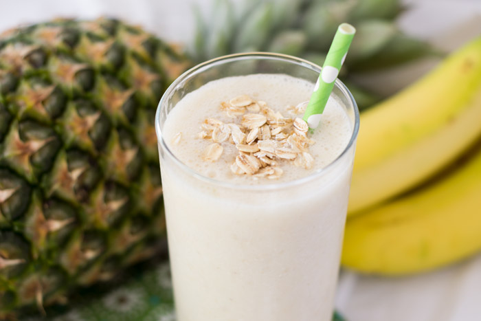 Easy Tropical Breakfast Smoothie