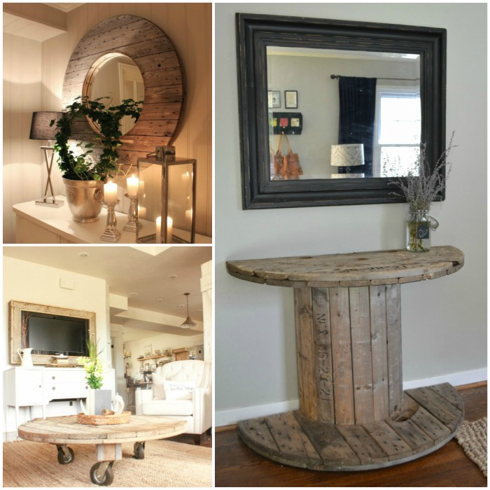 13 Wire Cable Spool Project Ideas for the Home