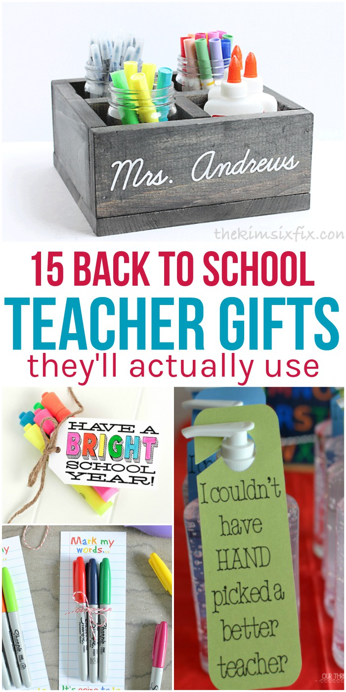 15 Back to School Teacher Gifts