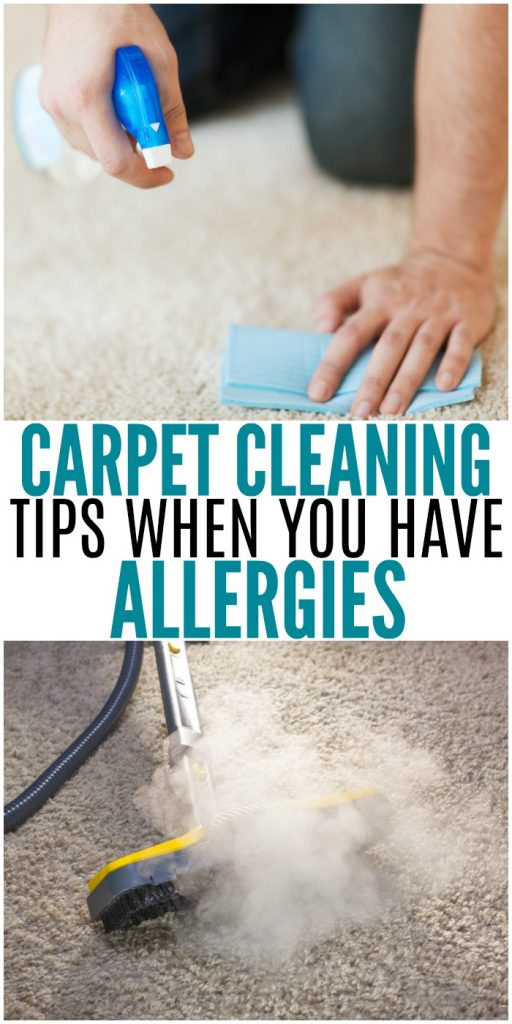 Carpet Cleaning Tips When You Have Allergies