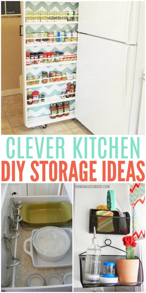 Clever diy storage ideas for the kitchen for Crazy kitchen ideas