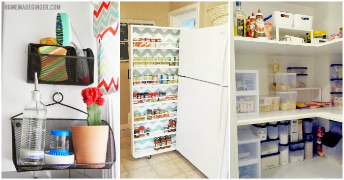 Clever DIY Storage Ideas for the Kitchen