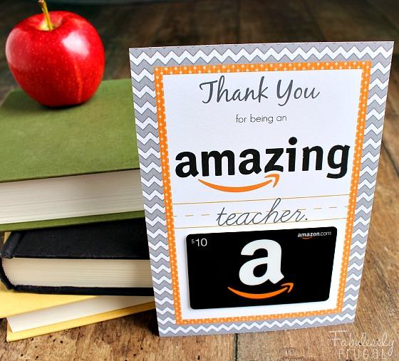amazon gift card idea
