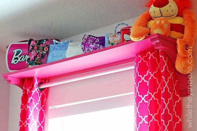 curtain shelf