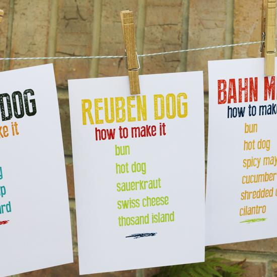 hot dog instructions