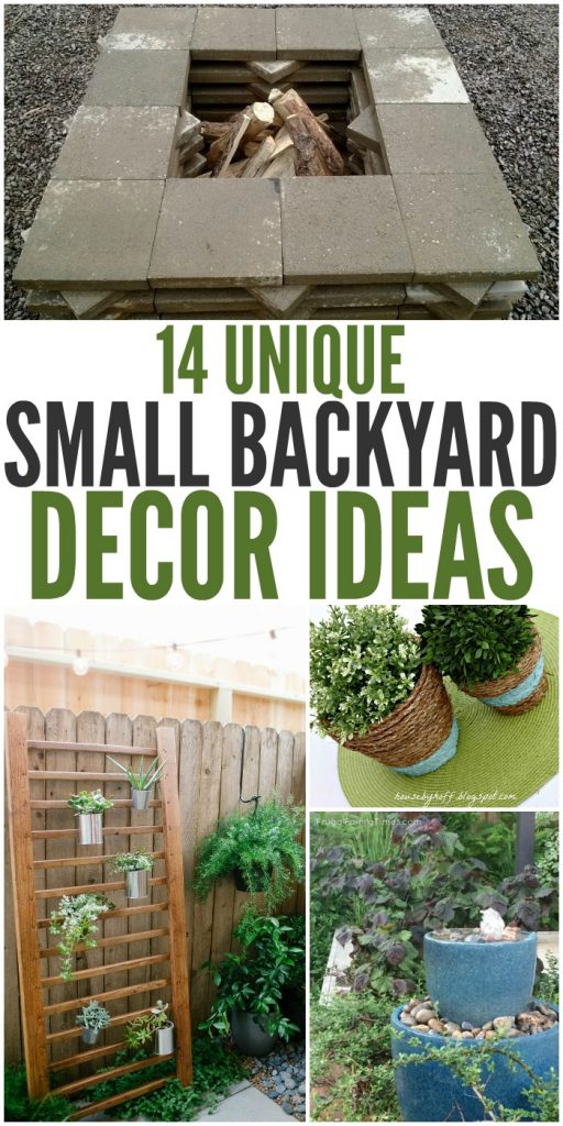Spruce up your outdoor space with these unique small backyard ideas.