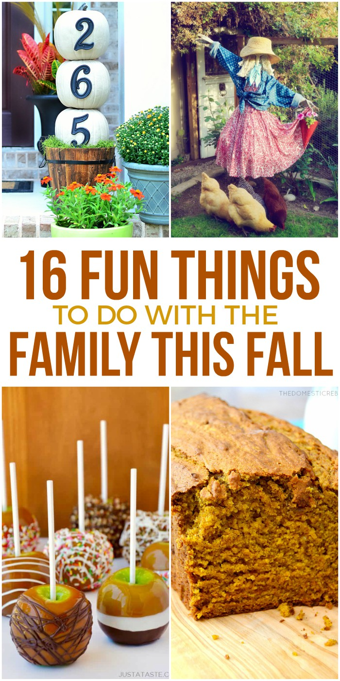 16 Fun Fall Family Activities