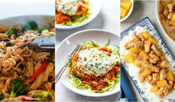 10 Easy Chicken Dinners to Refresh Your Meal Plan