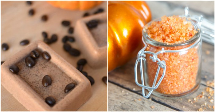 12 DIY Pumpkin Spice and Everything Nice Bath & Body Products