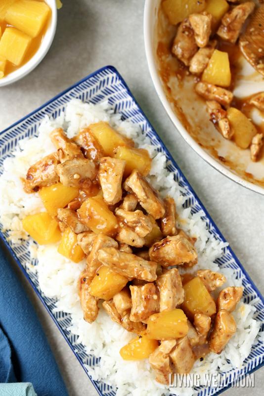 family-dinner-aloha-chicken