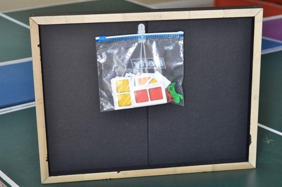 game board storage art