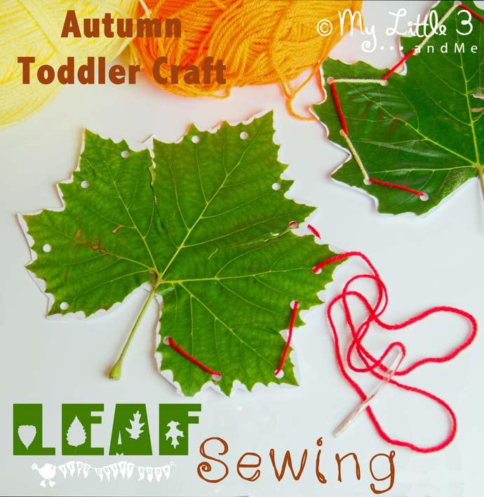 leaf-sewing