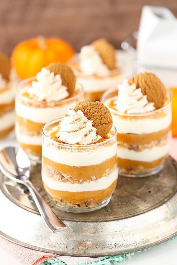 no bake pumpkin dessert recipes