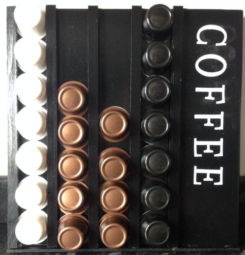 diy coffee storage pod