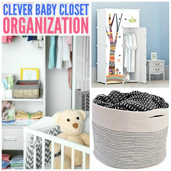 Clever Baby Closet Organization Ideas