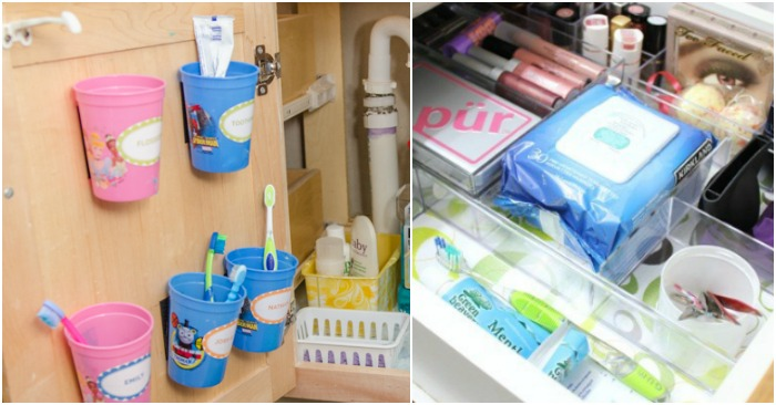 Bathroom Organization Ideas to Keep the Vanity Area Clear