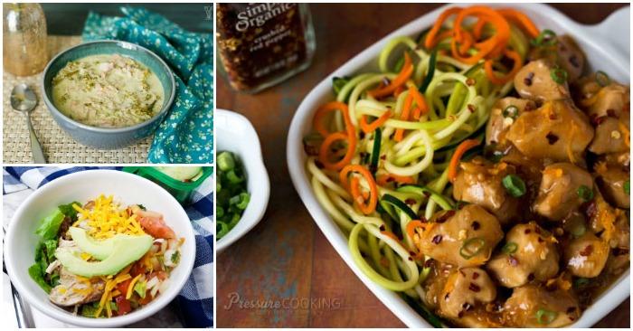 More Instant Pot Chicken Dinner Recipes