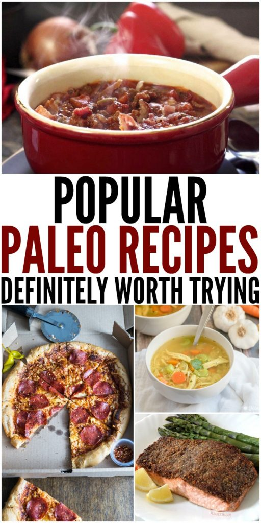 Popular Paleo Recipes Definitely Worth Trying