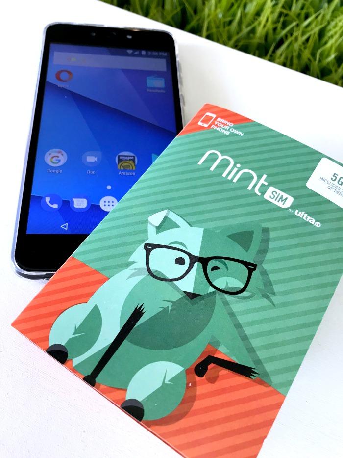 Mint SIM phone and service