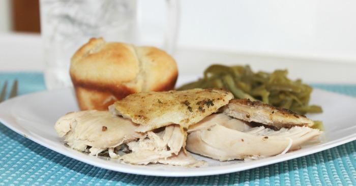 Slow Cooker Rotisserie Chicken - Crock Pot Rotisserie Chicken