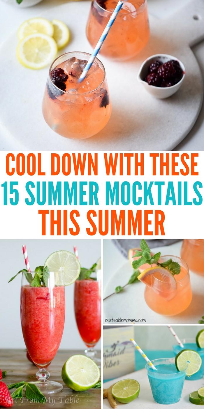 15 Summer Mocktails To Serve Up This Summer
