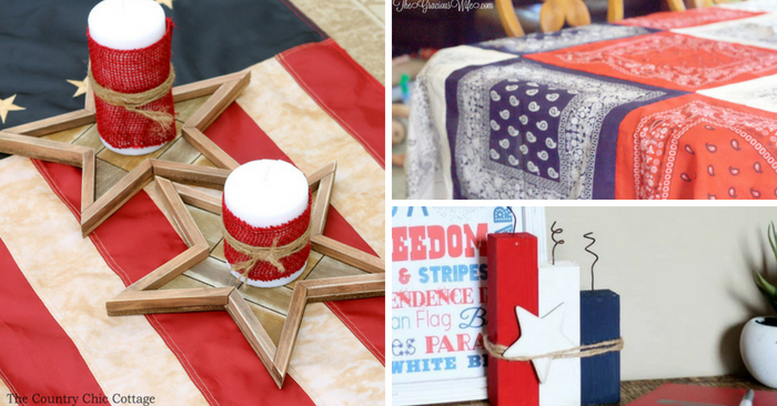 Decorate Your Home With These 4th Of July Crafts