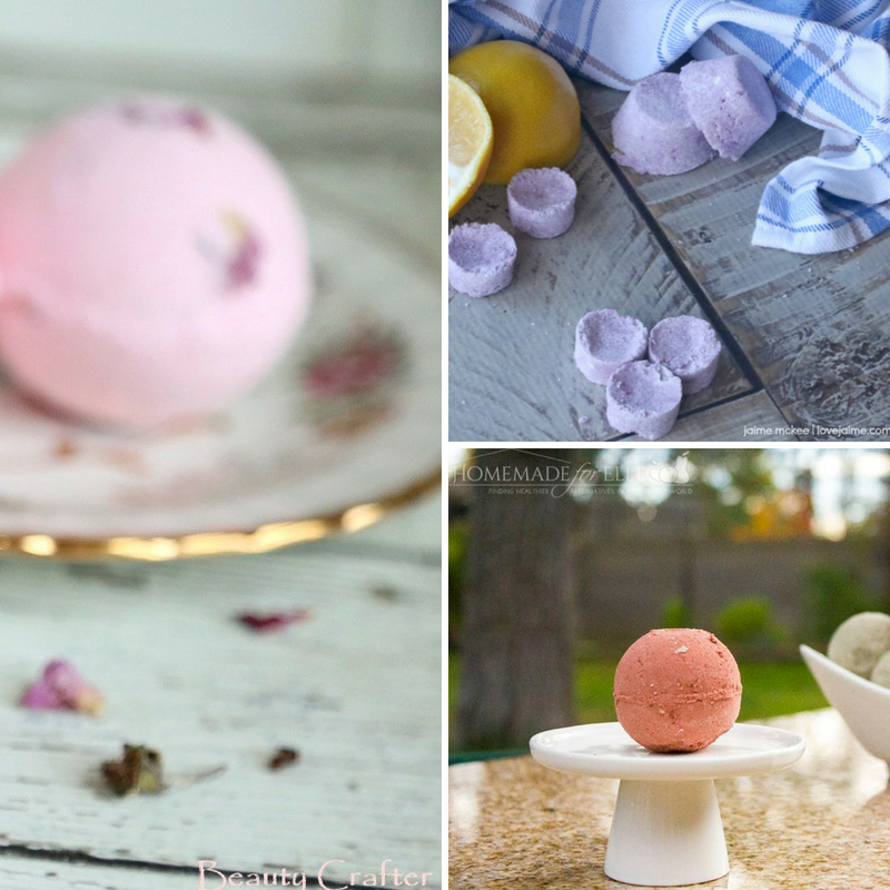 The Most Fabulous DIY Fizzy Bath Bombs To Make