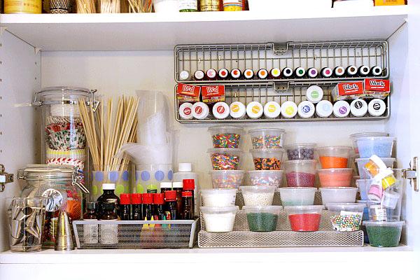 Kitchen Organization on A Budget - Spice Rack Organized Tidy Mom