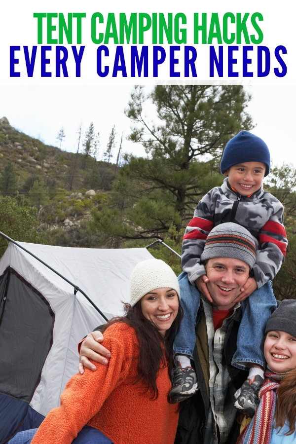 If you find that you are intrigued and want to give tent camping a try, here are tent camping hacks you'll be thankful to know! #tentcampinghacks #camping #tent #onecrazyhouse
