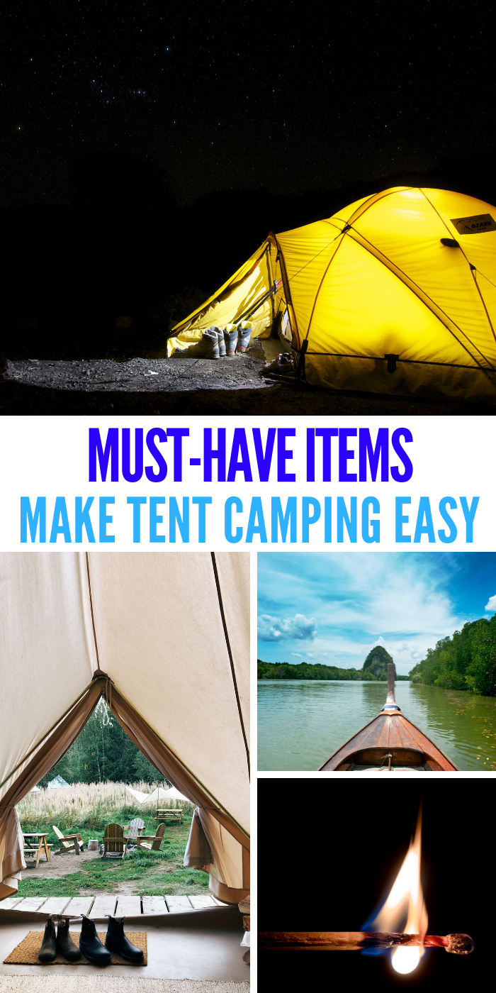 Some of the fondest memories that children and families have when they think of summer involve the fun and exciting aspect of tent camping. #tentcamping #onecrazyhouse #camping