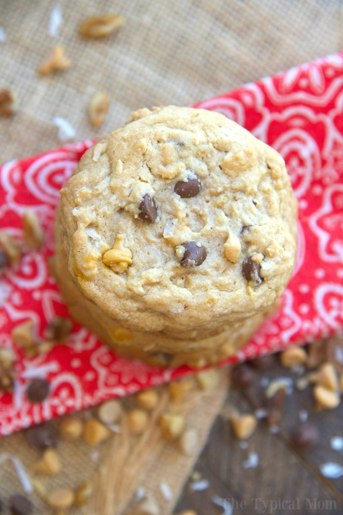 Homemade Road Trip Snacks - Cowboy Cookies- The Typical Mom