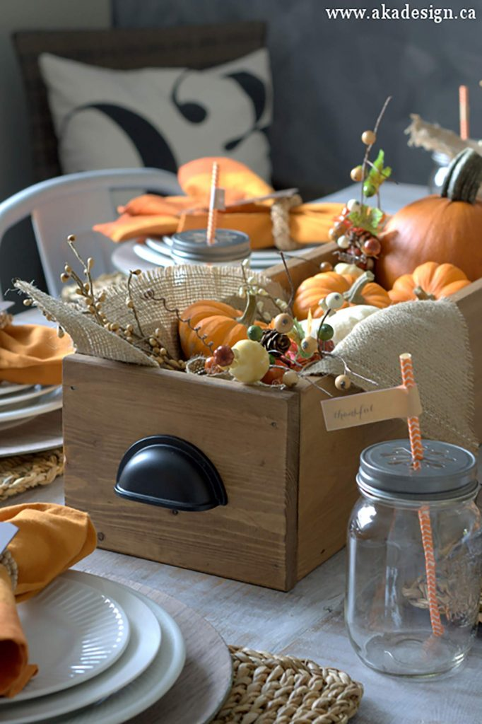 Table Box for fall