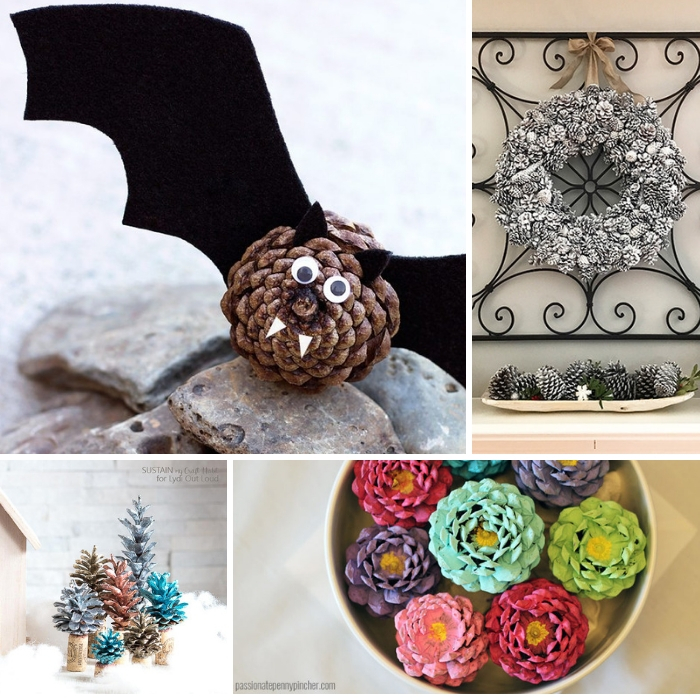 Pine Cone Crafts For The Entire Family