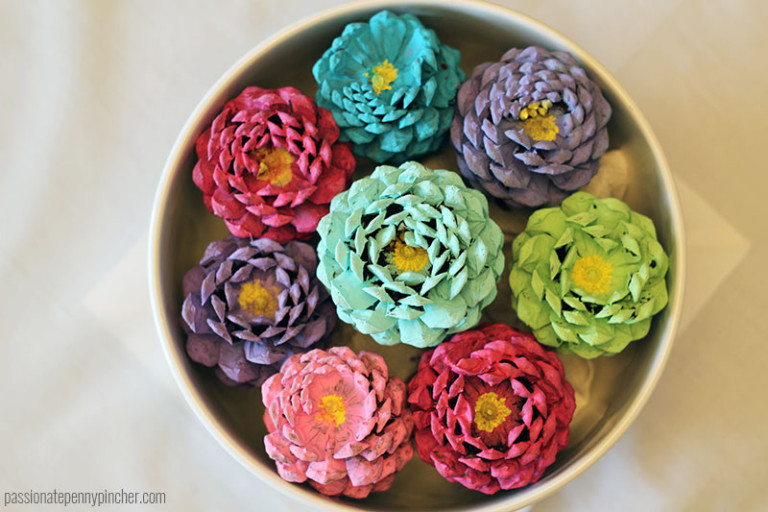 pine cone crafts to sell