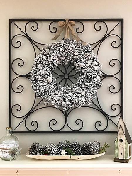 pine cone crafts wreaths