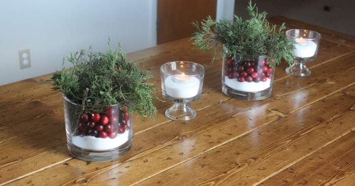 5 Minute Christmas Table Centerpiece And Cleaning Hacks To Save The Day!