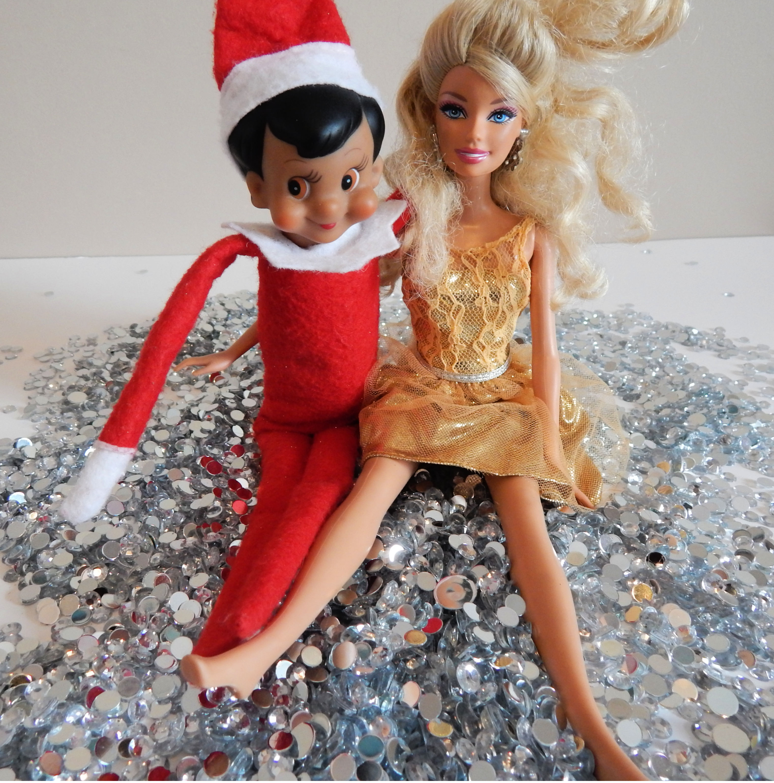 elf on the shelf and barbie