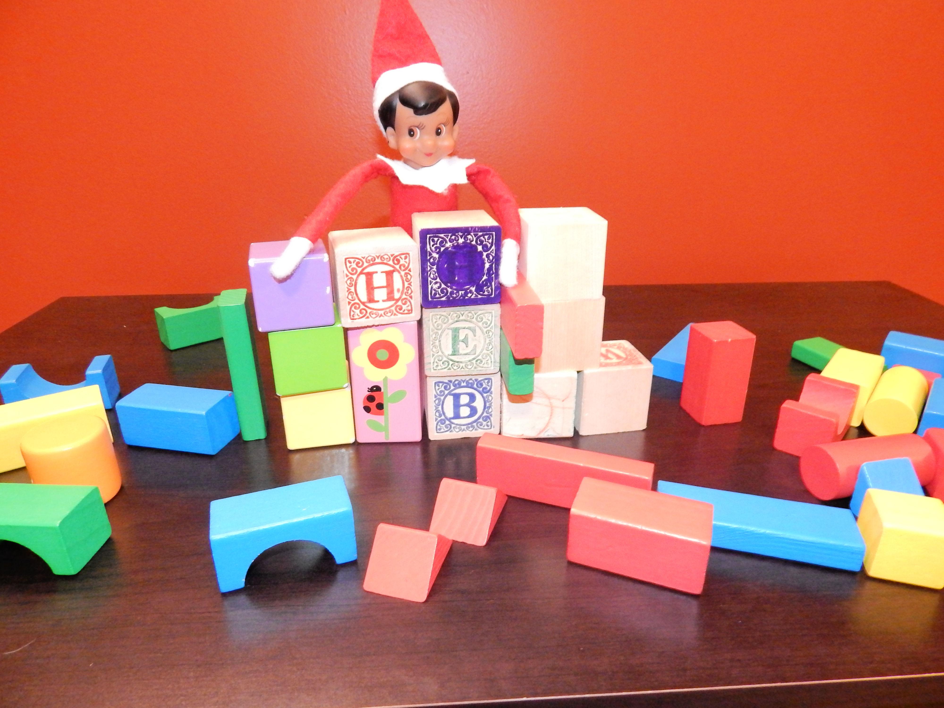 Elf On The Shelf Building