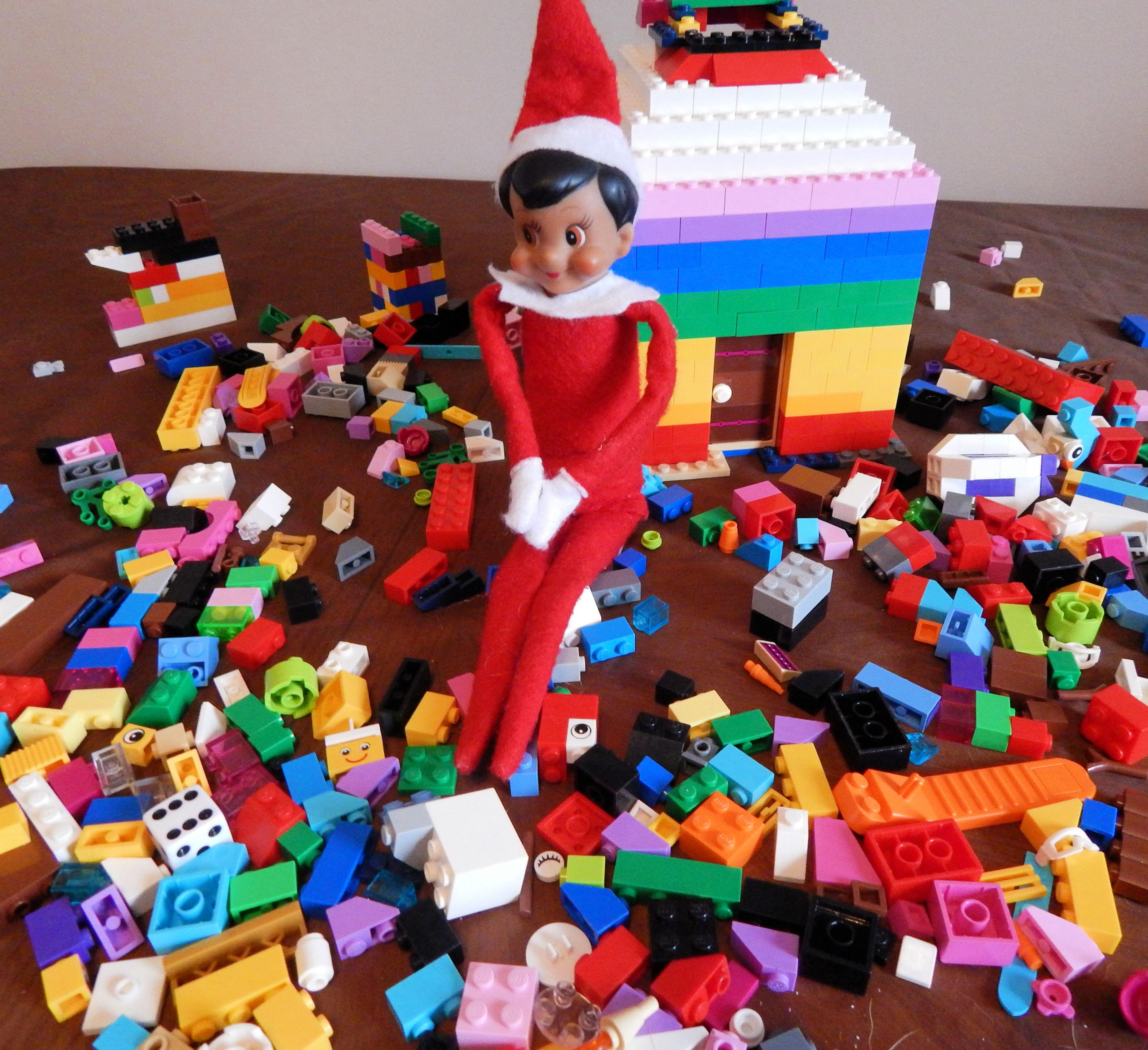 Playful Elf On The Shelf Ideas