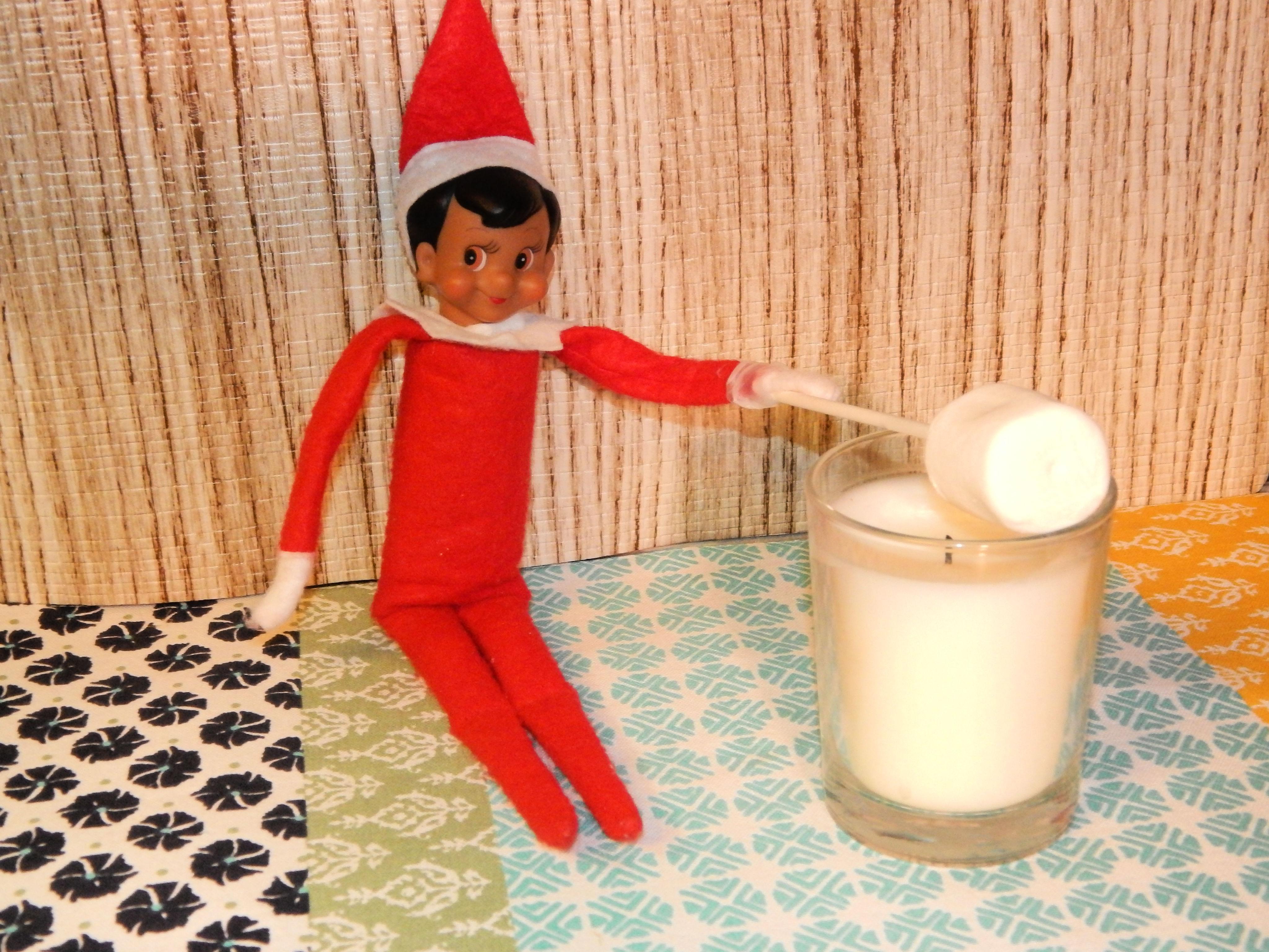 Elf On The Shelf Roasting Marshmallow