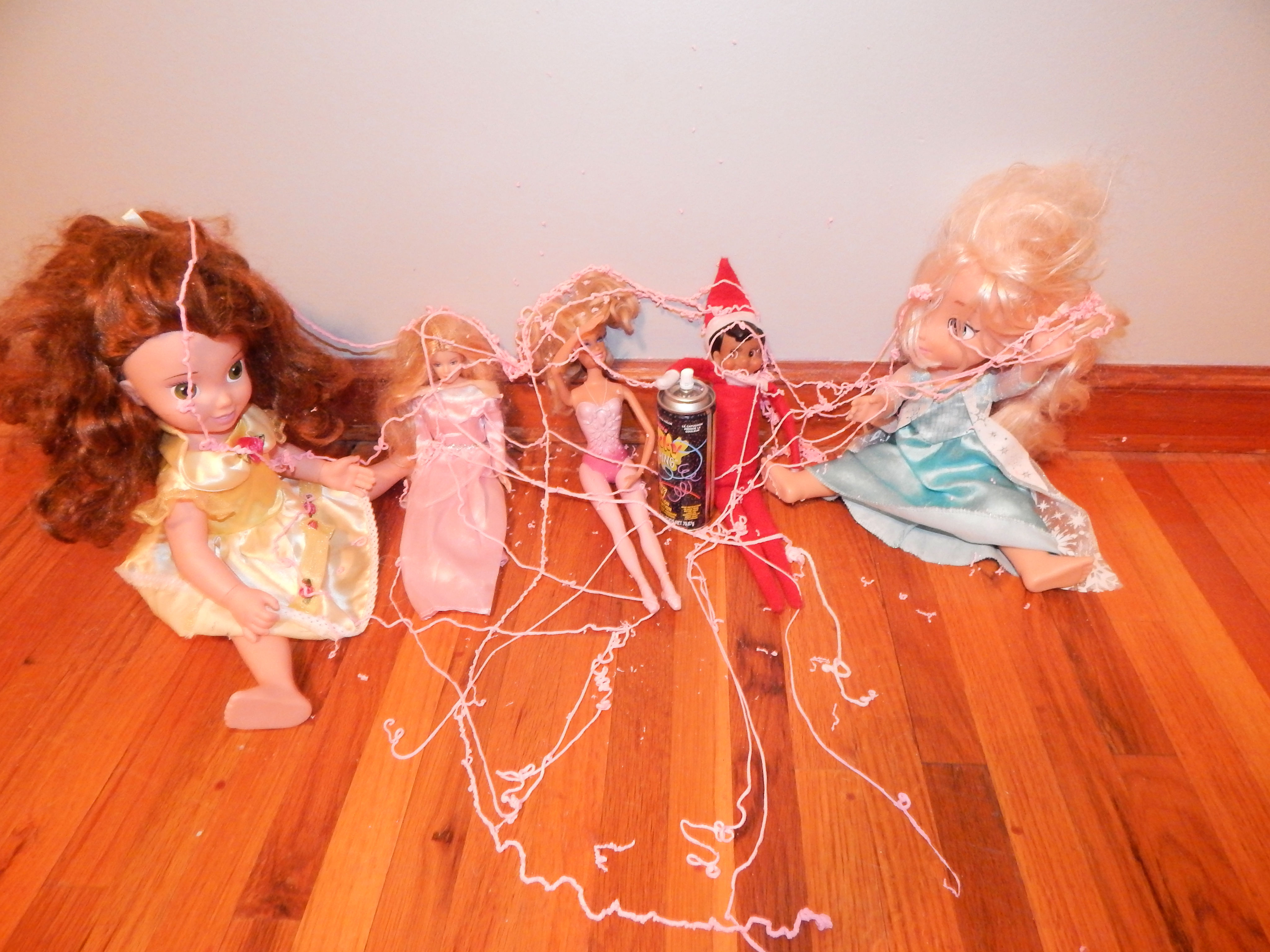 Naughty Little Elf On The Shelf